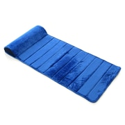 Memory Foam Kidz My First Toddler Memory Foam Nap Mat with Removable Pillow; Blue