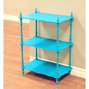 Mega Home 27.9'' Etagere; Blue