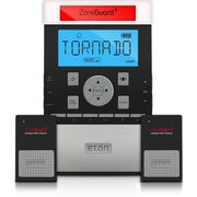 Eton NZG200B Zone Guard+ Weather Alert Clock Radio System, Black, 6 Presets, Snooze Function