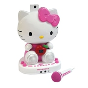 Hello Kitty CD+G Karaoke System w/ Built in Video Camera & Mic