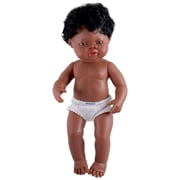 Miniland Educational African Baby Doll Boy