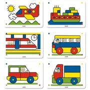 Miniland Educational 6 Patterns 5/8'' Pack