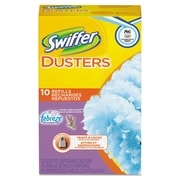 Swiffer® Refill Dusters, Dust Lock Fiber, Yellow, 10/box, 6 Boxes/carton