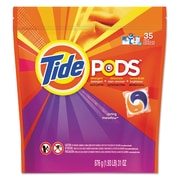 Tide® Pods, Laundry Detergent, Spring Meadow, 35/pk, 4 Pk/ct