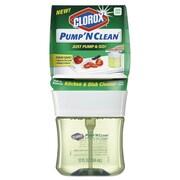 Clorox® Pump 'n Clean Kitchen Cleaner, Citrus Scent, 12 Oz Pump Bottle, 6/carton