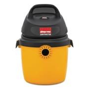 Shop-Vac® Portable Economy Wet/dry Vacuum, 2.5 Gal, 120v, 8a, 9lbs, Black/yellow