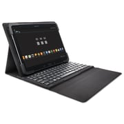 Kensington® Keyfolio Fit For Samsung Galaxy Tab 4, Black