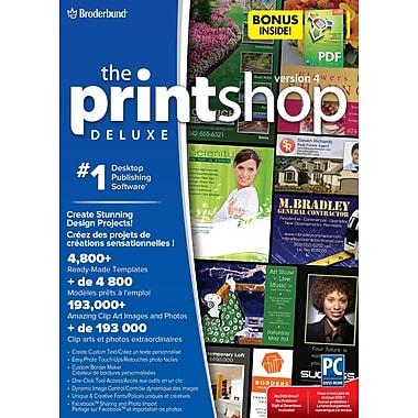 Logiciel The Print Shop Deluxe v4, avec le logiciel « Everything PDF » en prime