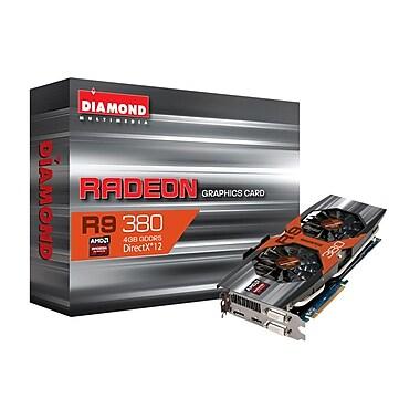 Diamond AMD R9 380 R9380D54G Graphics Video Card, 4GB GDDR5, English