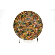Firefly Home Collection Fall Leaf Foliage Charger with Stand