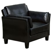 Hokku Designs Drevan Arm Chair; Black