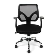 Merax Mesh Office Task Chair with Arms; Black