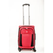 Bags West Lake 20'' Spinner Suitcase; Red