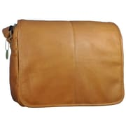 David King Messenger Bag; Tan