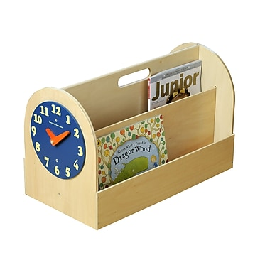 Tidy Books Portable Book Box; Natural