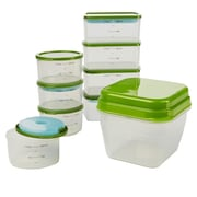 Fit & Fresh Smart Portion 18 Piece Food Storage Container Set