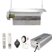 Virtual Sun 400 Watt HPS MH Grow Light Winged Reflector Hood Digital Kit