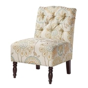 Madison Park Madison Park Lola Tufted Slipper Chair