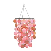 Brewster Home Fashions WallPops Room Accessories Pearl Chandelier; Pink