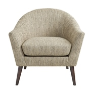 Madison Park Grayson Arm Chair; Silver Gray