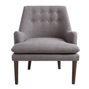 Madison Park Taylor Club Chair; Gray