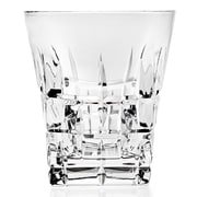 Godinger Silver Art Co Beaumount Double Old Fashion Glass with a Flair at the Top (Set of 4)