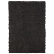Welspun Spaces HomeBeyond  Teddy Shag Charcoal Area Rug; 2'6'' x 3'10''