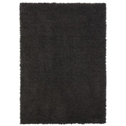Welspun Spaces HomeBeyond  Teddy Shag Charcoal Area Rug; Runner 1'10'' x 5'