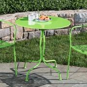 Alfresco Home Martini Bistro Table; Key Lime