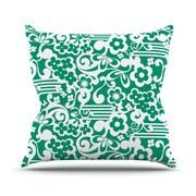 KESS InHouse Esmerald Product Name Serenity Polyester Throw Pillow  Throw Pillow; 18'' H x 18'' W
