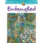 Creative Haven Entangled Coloring Book, Paperback