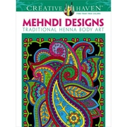 Creative Haven Mehndi Designs Coloring Book, Paperback