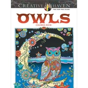 Creative Haven Owls AdultColoring Book, Paperback