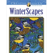 Creative Haven WinterScapes AdultColoring Book, Paperback