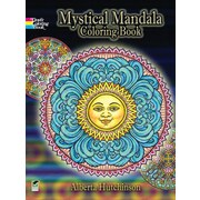 Mystical Mandala Coloring Book, Paperback
