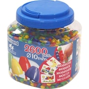Miniland Educational 2600 Pegs 3/8""