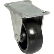 Richelieu Madico Polypropylene Caster Rig 50mm, Fixed, Black (F25827)