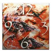 Metal Art Studio 22'' Hot Jazz Wall Clock