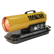 Master 75,000 BTU Portable Kerosene Forced Air Utility Heater with Thermostat