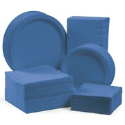 Creative Converting Tableware Entertaining Kit for 150 (Set of 600); True Blue