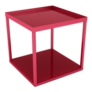 Dar Modular End Table; Red