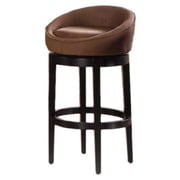 Armen Living Igloo 26'' Swivel Bar Stool; Brown