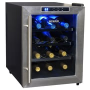 NewAir 12 Bottle Single Zone Freestanding Wine Refrigerator
