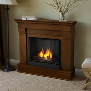 Real Flame Chateau Gel Fuel Fireplace; Espresso
