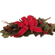 Floral Home Decor Pine and Berry Centerpiece
