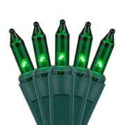 Kringle Traditions 50 Mini Lights 6'' Lead; Green