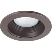 NICOR Lighting 4'' Recessed Trim; Oil Rubbed Bronze