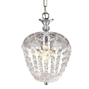 Warehouse of Tiffany Maria 1-Light Crystal Pendant