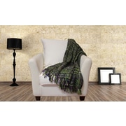 Amrapur Oversized Throw Blanket; Lavender Sage