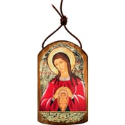 G Debrekht Inspirational Icon Blessed Virgin Mary Life-Giving Wall Decor
